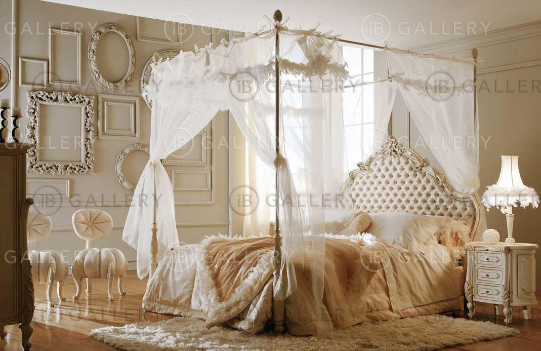 Спальни с балдахином фото